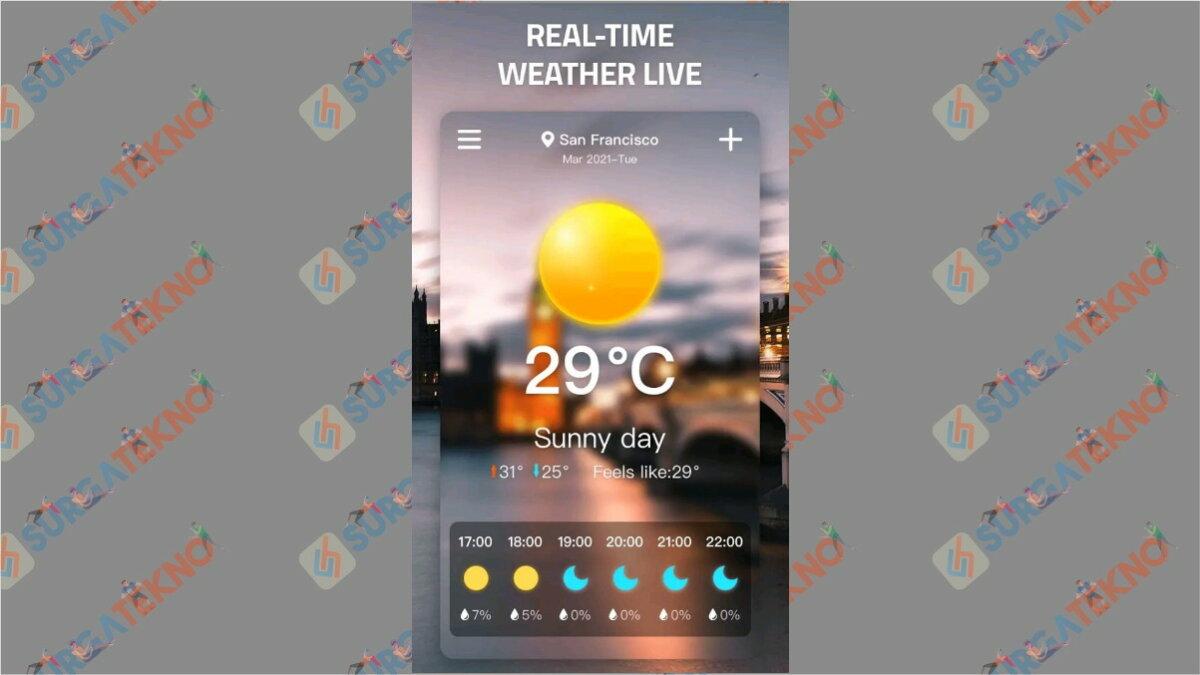Weather App - Aplikasi cuaca terbaik