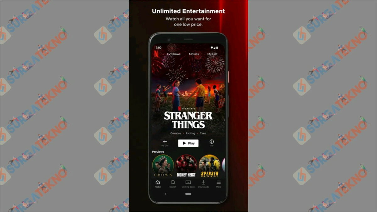 Netflix - Aplikasi Paling Boros Kuota Internet
