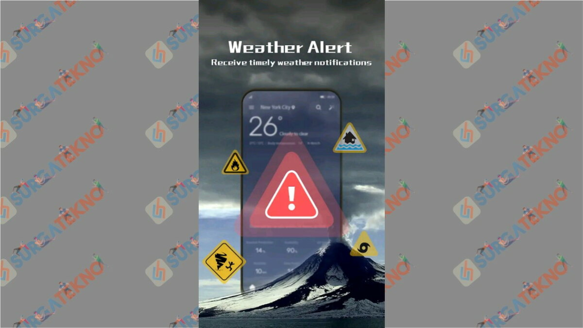 ProWeather - Aplikasi cuaca terbaik