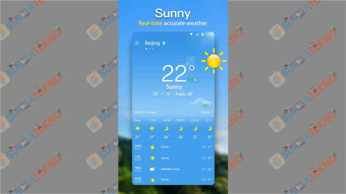 Weather - Aplikasi cuaca terbaik