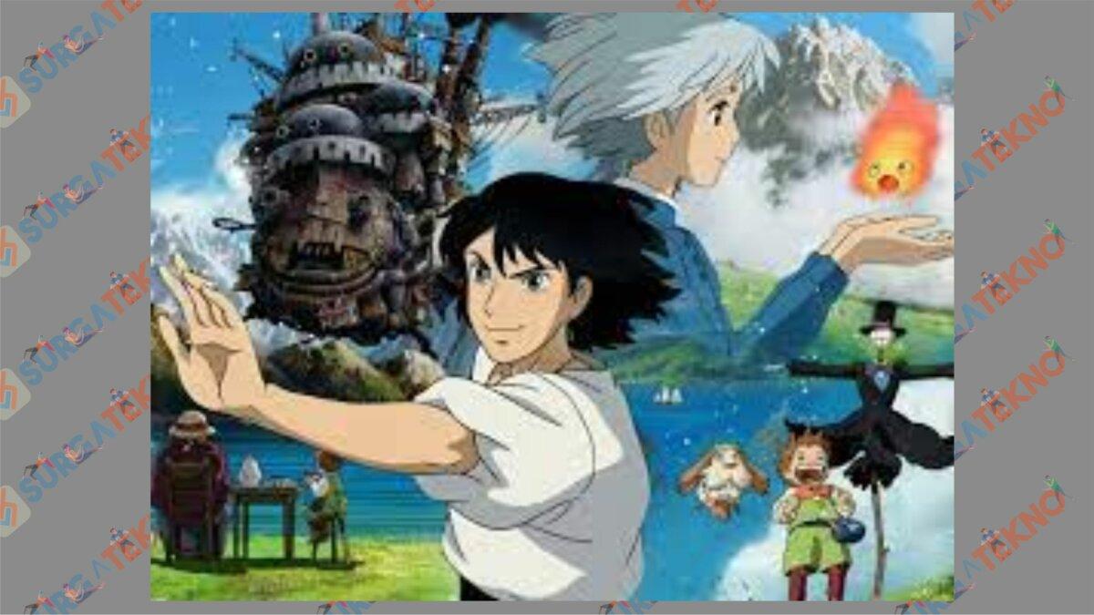 Howl's Moving Castle (2004) - Film Jepang Fantasy Romance