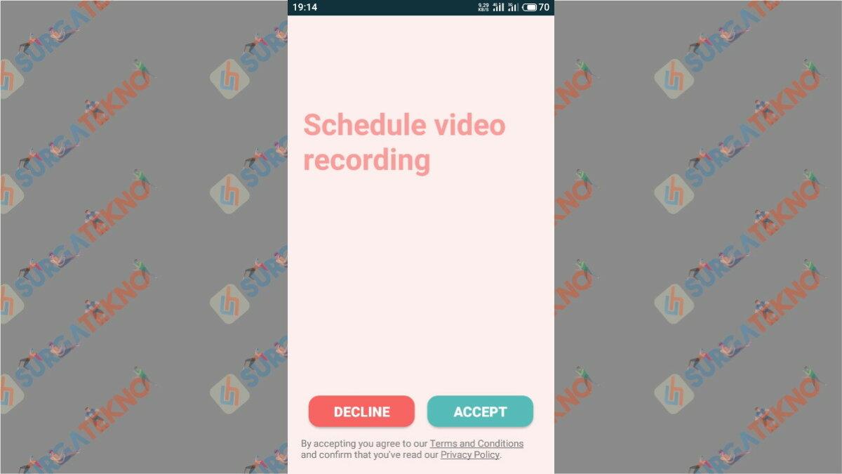 Langkah Pertama - Cara Merekam Video Diam-Diam Walau Layar Ponsel Mati