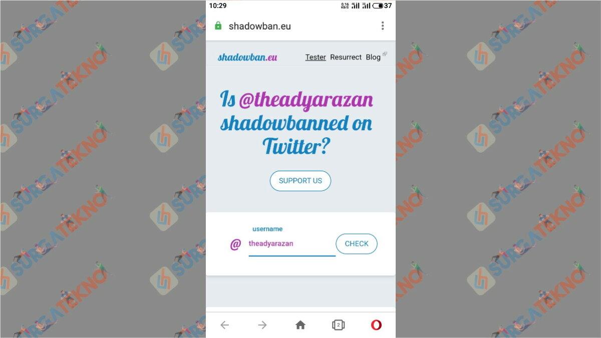Cara pertama - Apa itu ShadowBan Twitter?