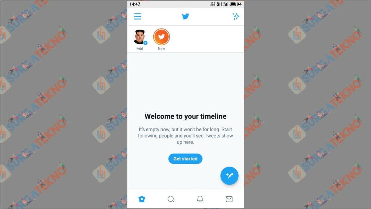 Langkah pertama - cara hapus akun Twitter