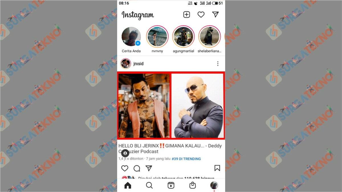 Langkah pertama - Cara Mencari Akun Instagram Orang Di Sekitar Kita Dengan Jarak Terdekat