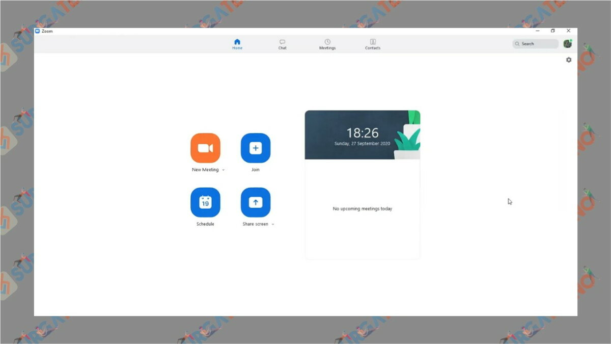 Langkah pertama - Cara update zoom di laptop
