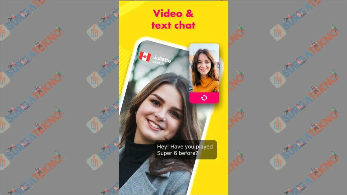 Ablo - Aplikasi chatting dengan bule