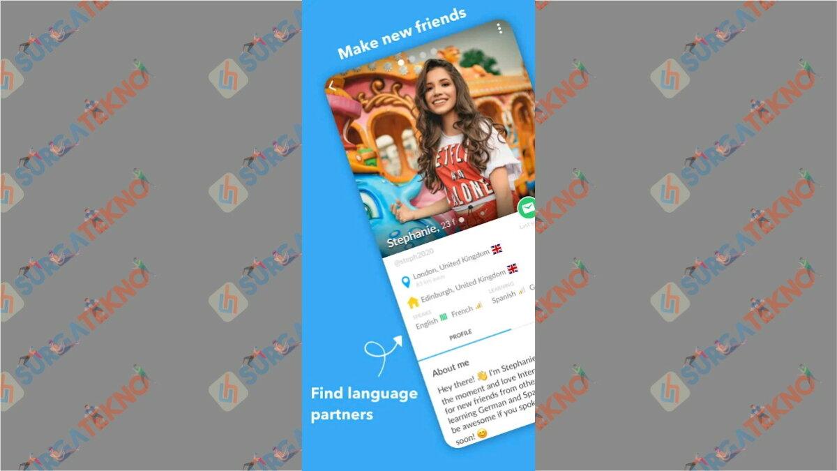 InterPals - Aplikasi chatting dengan bule