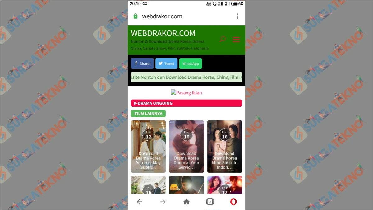 Web Drakor - Situs Nonton Drama Korea Gratis