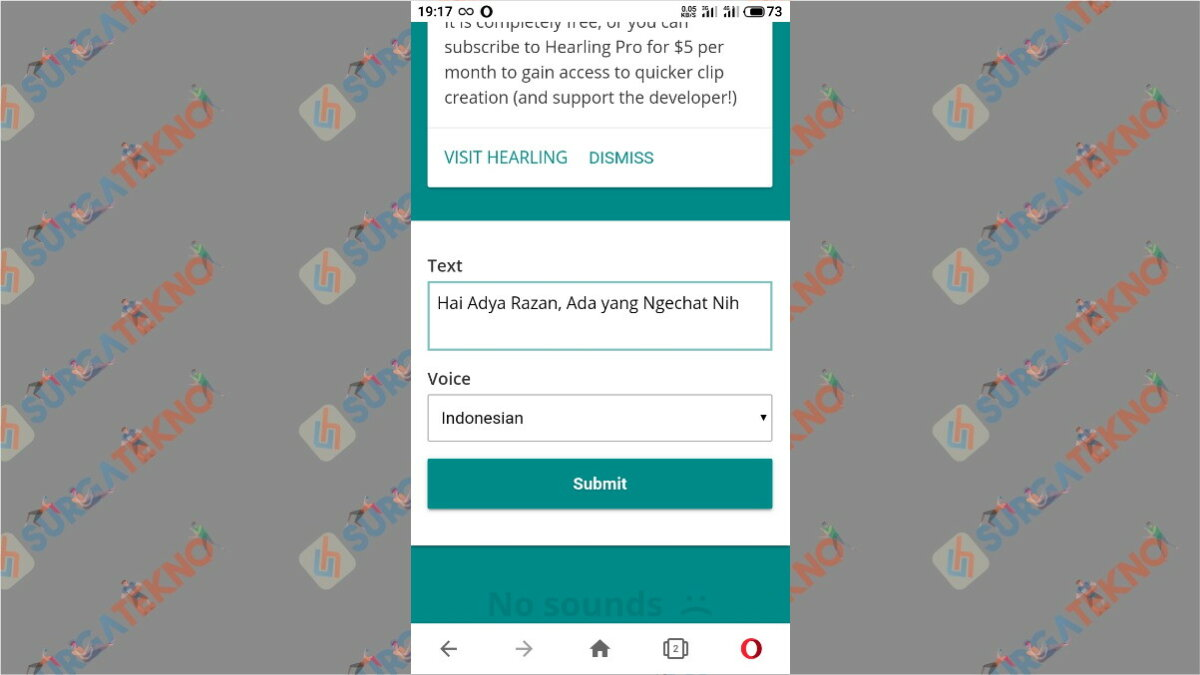 Langkah Kedua - Cara Agar Notifikasi WhatsApp Bersuara Seperti Google