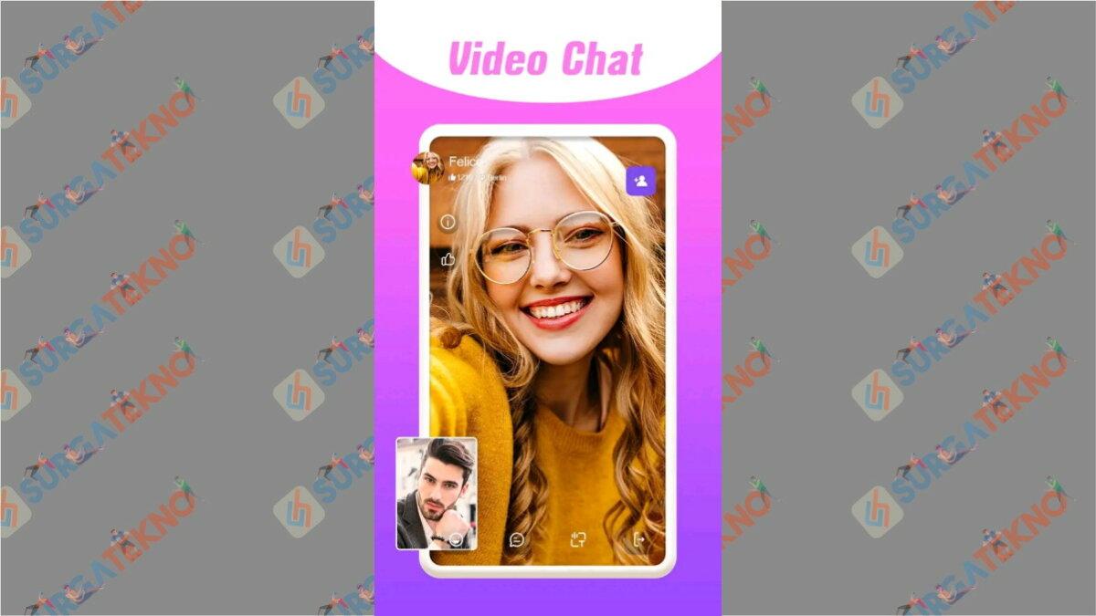 Mixu - Aplikasi video call acak