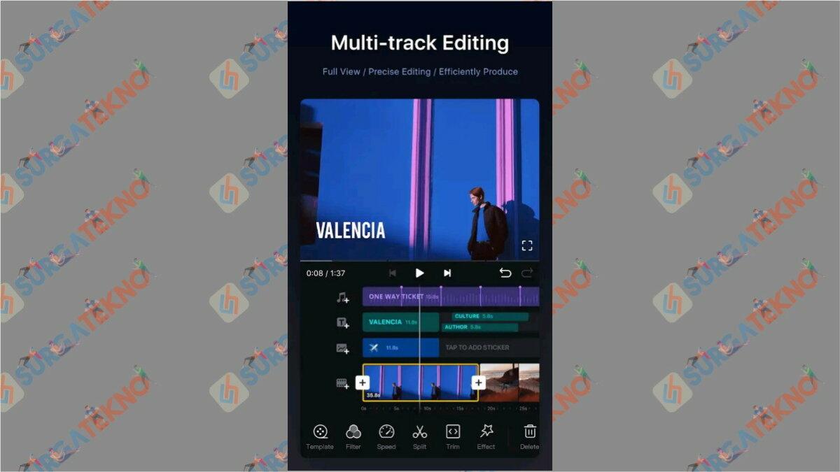 VN Video editor maker - aplikasi edit video di hp terbaik