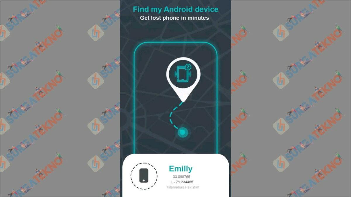 Find My Phone Android Lost - Aplikasi pelacak HP dengan IMEI