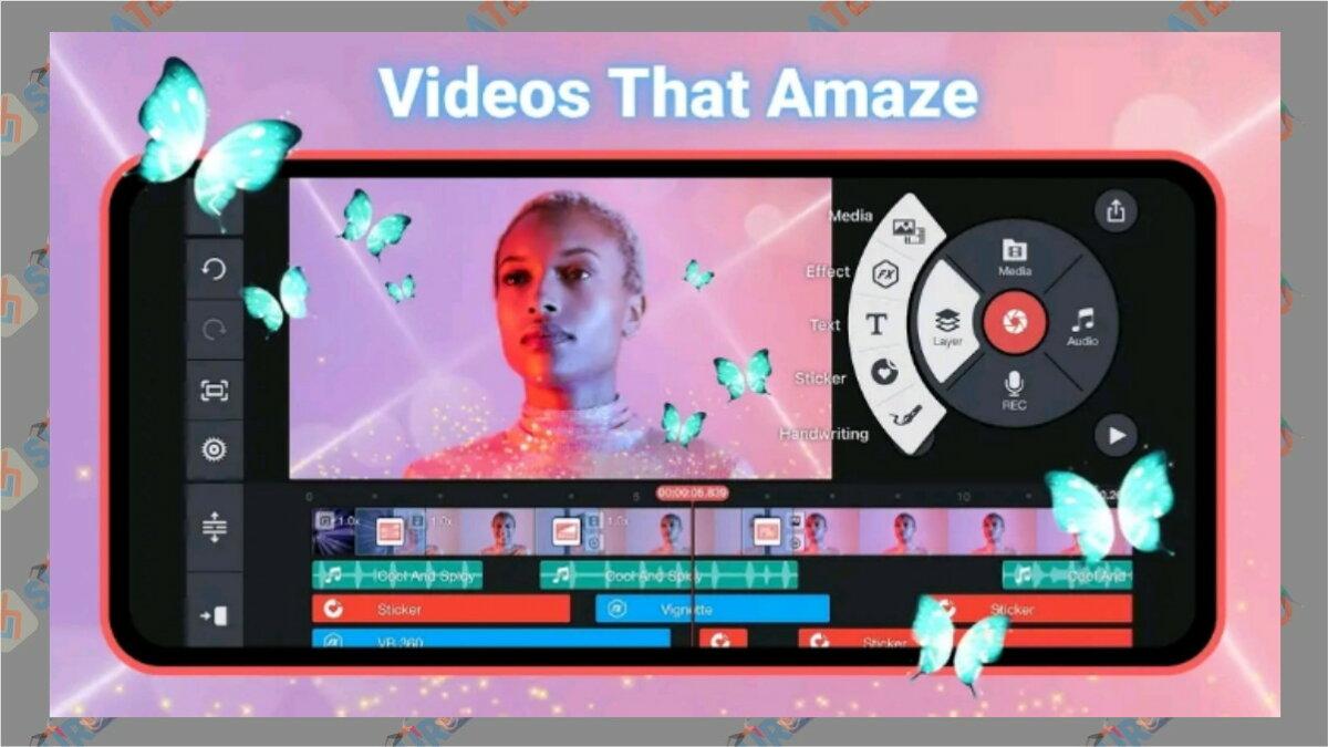 KineMaster - aplikasi edit video di hp terbaik