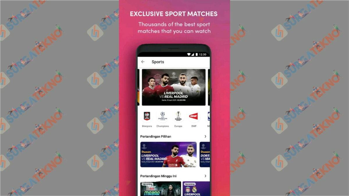 Vidio - Aplikasi Live Streaming Euro 2020