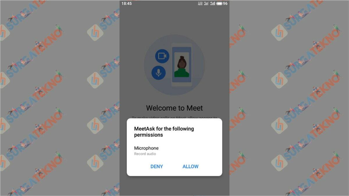 Langkah Keempat - Cara Menggunakan Google Meet Secara Gratis