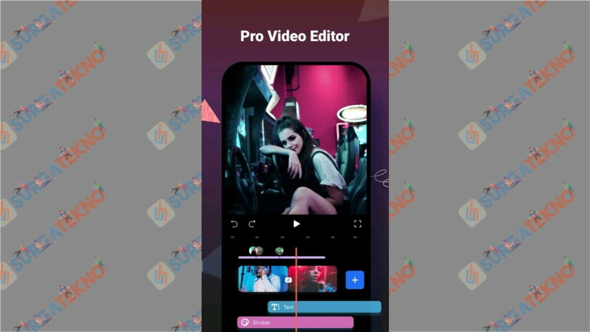 FilmoraGo - aplikasi edit video di hp terbaik