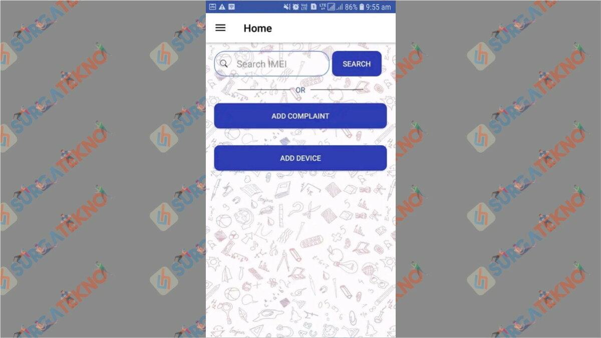 Search4Sure - Aplikasi pelacak HP dengan IMEI