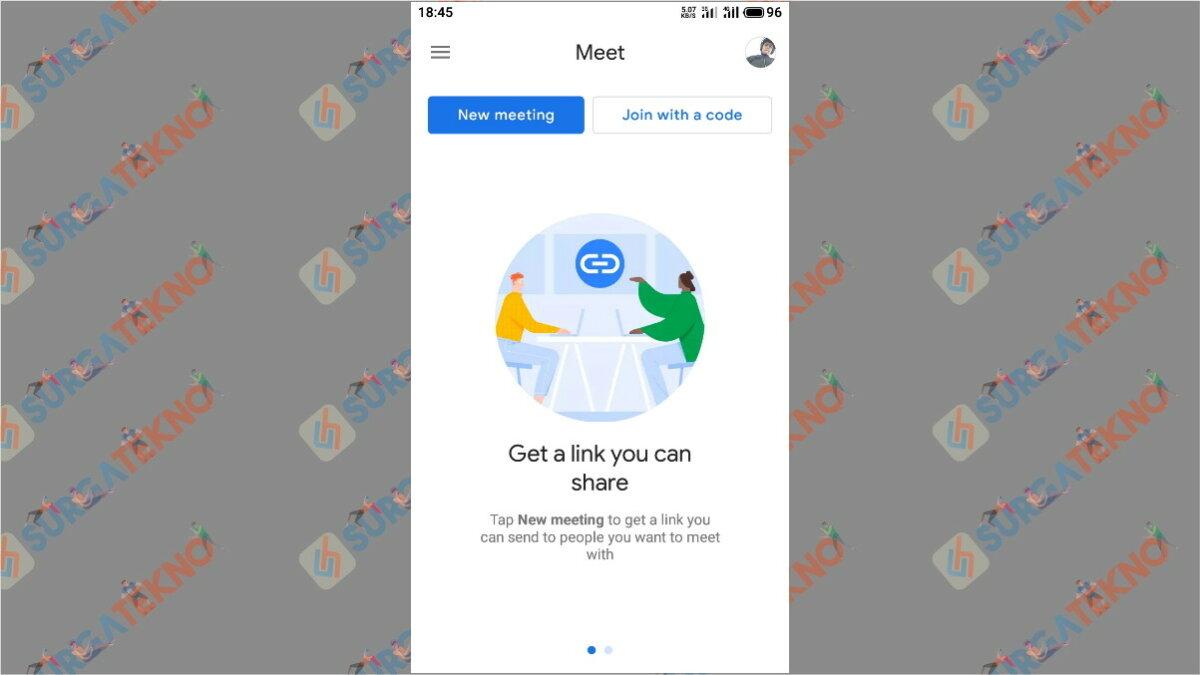 Langkah Kelima - Cara Menggunakan Google Meet Secara Gratis