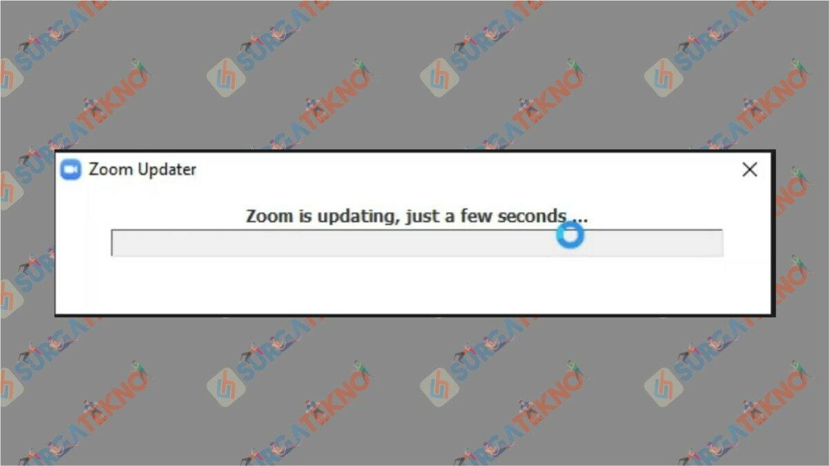 Langkah terakhir - Cara update zoom di laptop