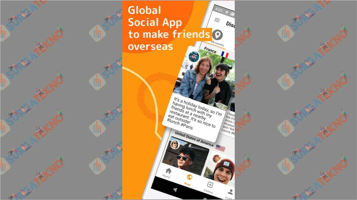 airtripp - Aplikasi chatting dengan bule