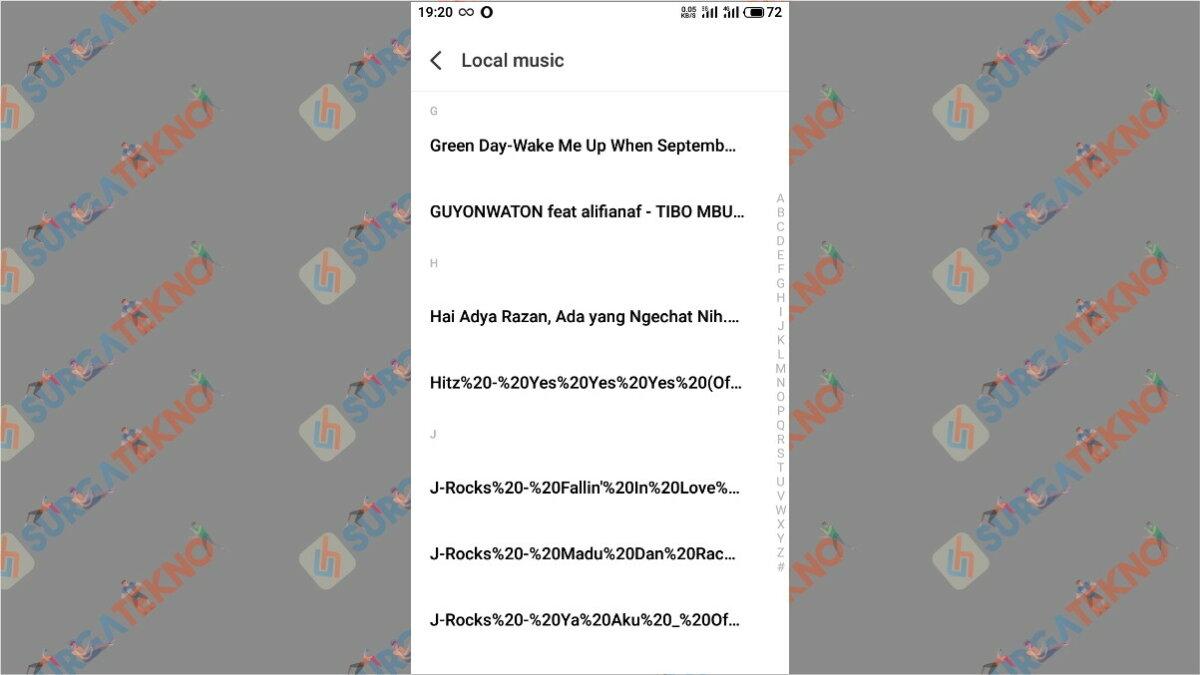 Langkah keenam - Cara Agar Notifikasi WhatsApp Bersuara Seperti Google