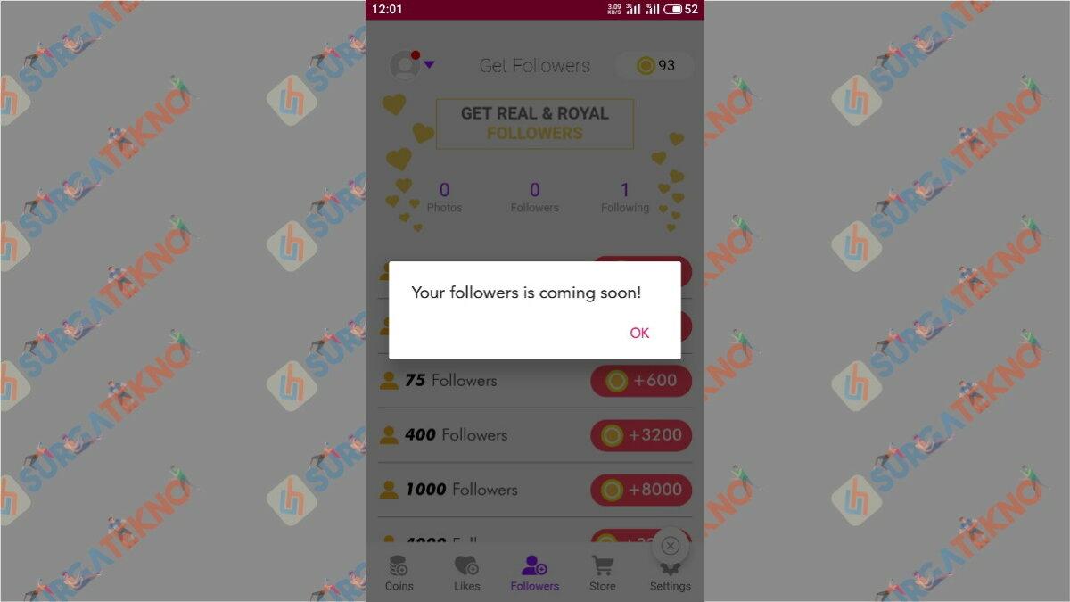 langkah terakhir - Cara menambah followers ig dengan aplikasi