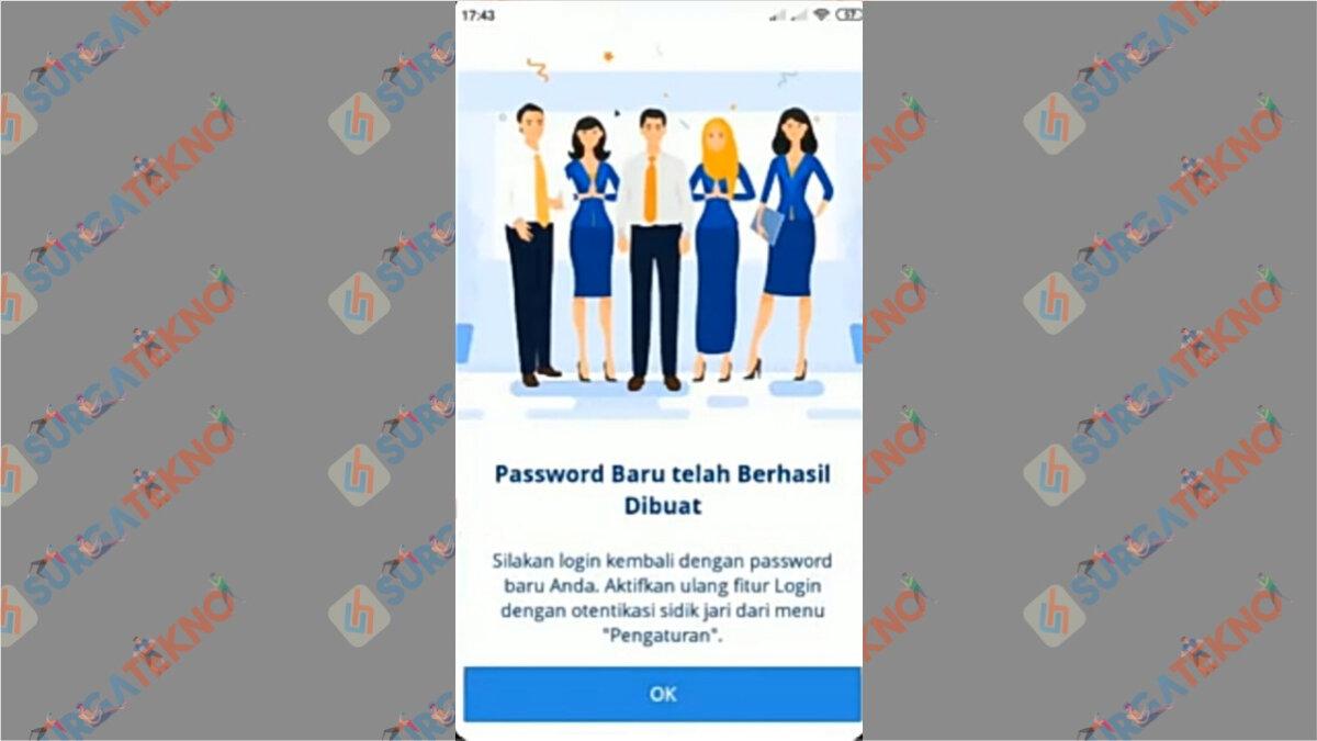 Langkah Ketujuh - Cara Membuka Blokir Mandiri Online Banking Tanpa Menuju Bank