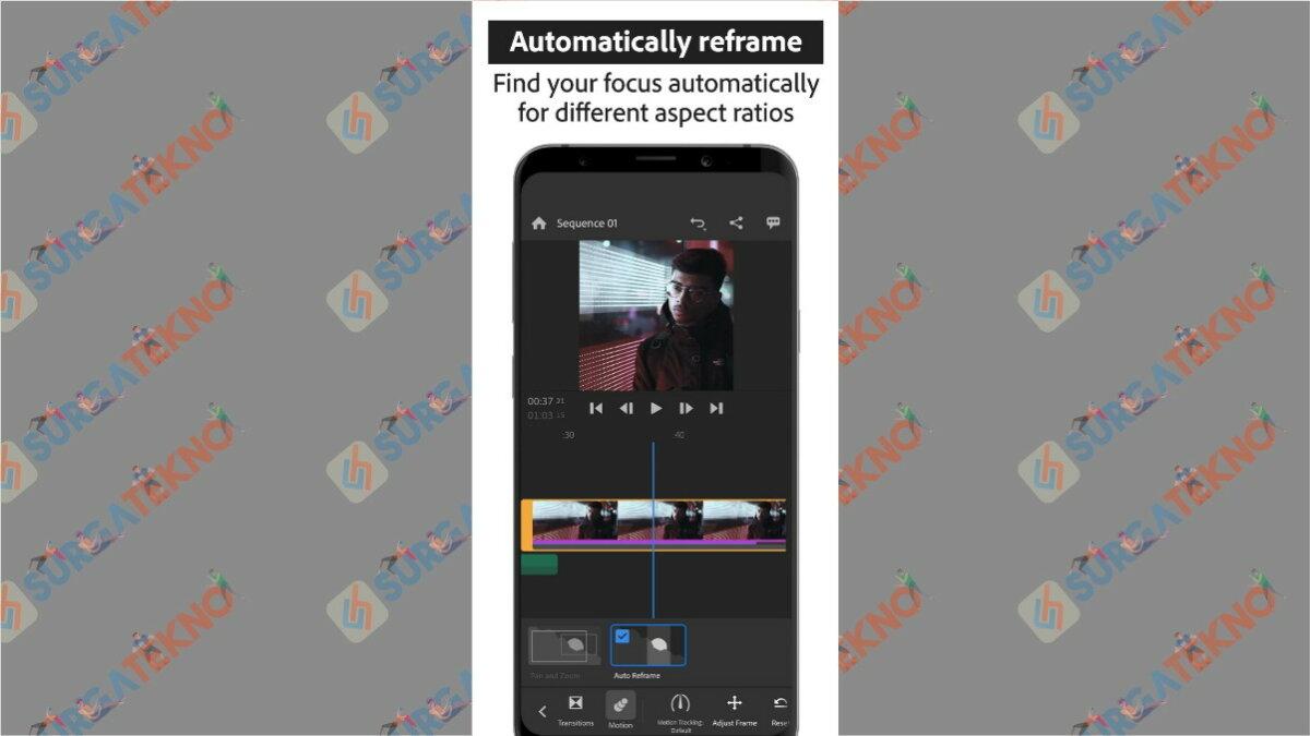 Adobe Premiere Rush - aplikasi edit video di hp terbaik