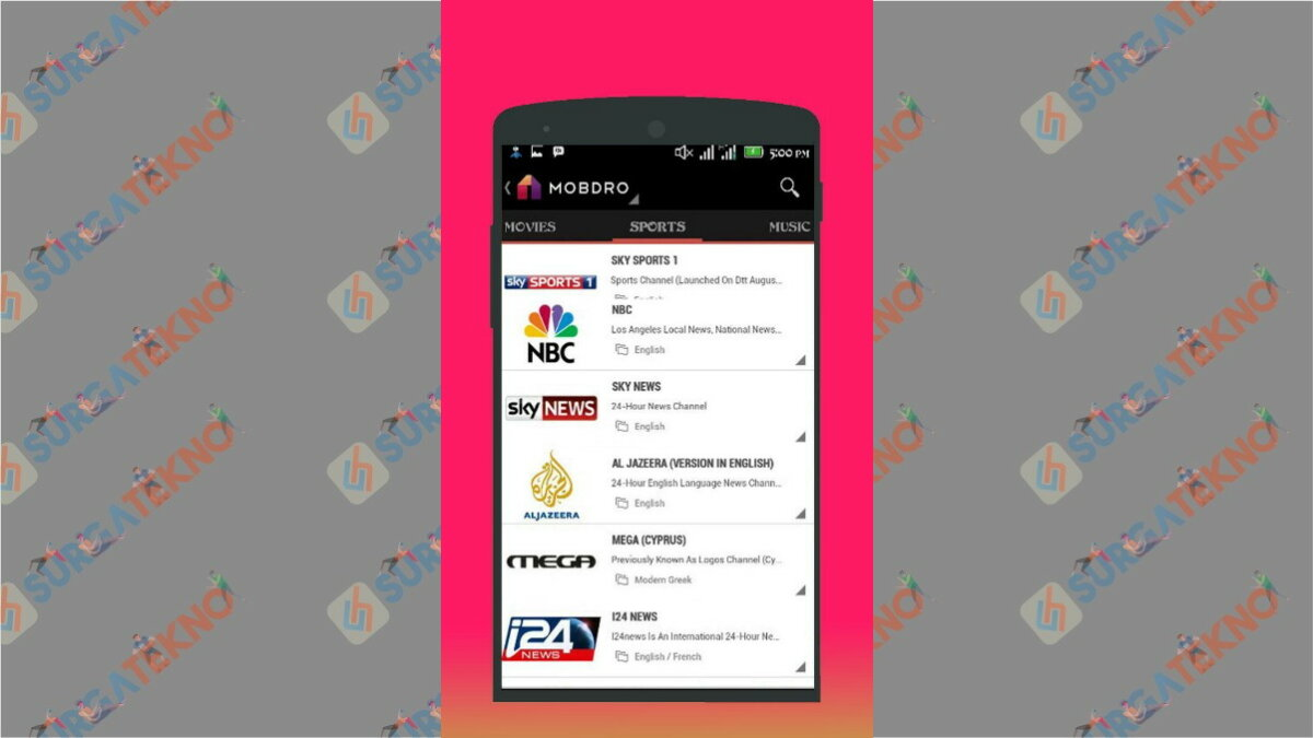 Mobro - Aplikasi Live Streaming Euro 2020