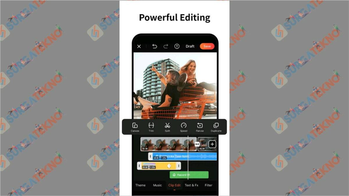 Viva Video - aplikasi edit video di hp terbaik