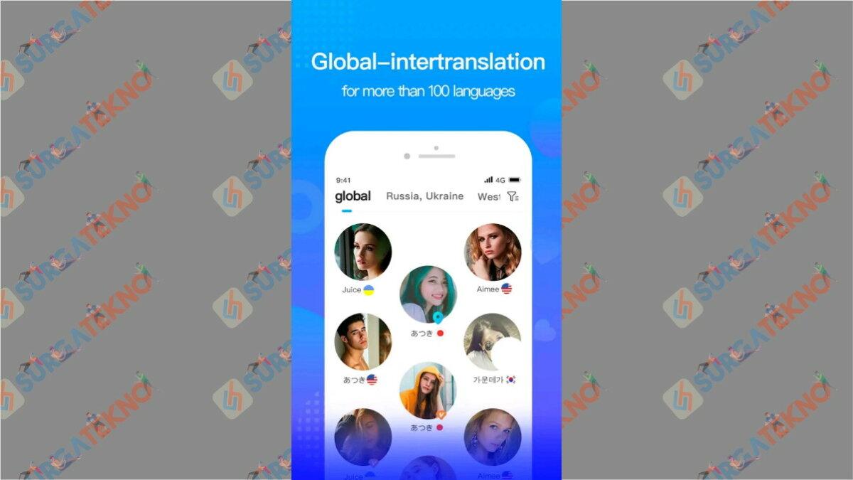WorldTalk - Aplikasi chatting dengan bule