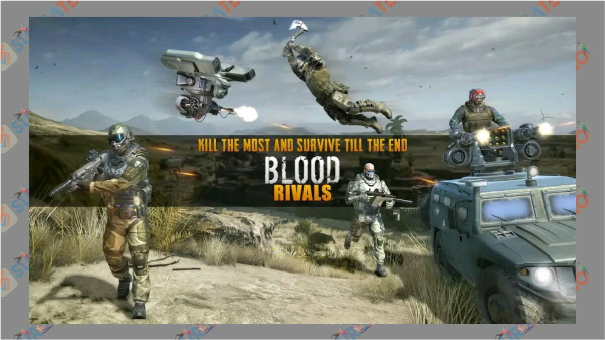 Blood Rivals - Game Battle Royale Terbaik