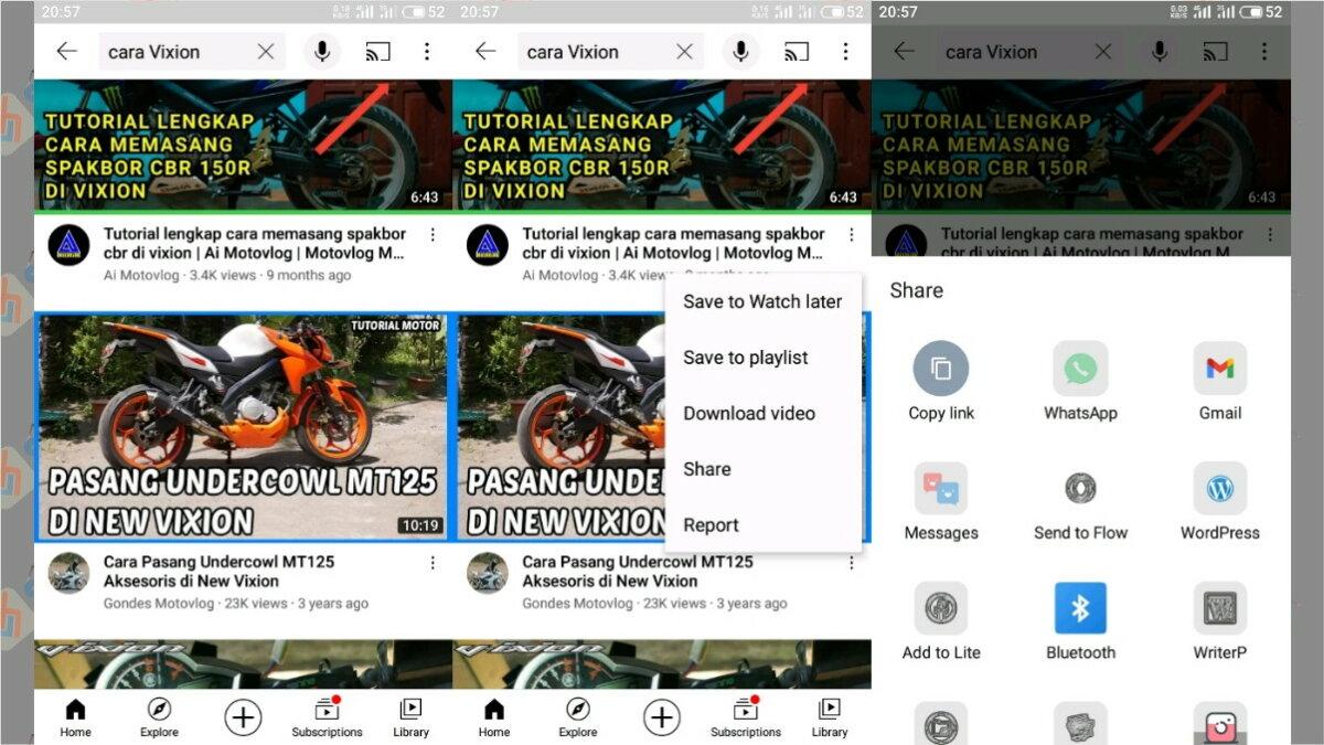 Cara pertama - cara download thumbnail youtube