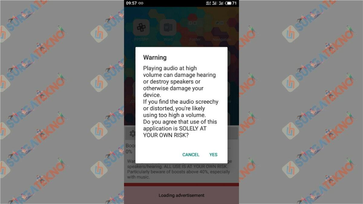 Langkah pertama - Cara Memperbesar Volume Suara Video di Android