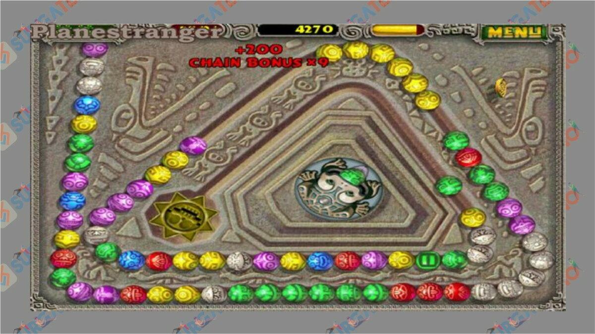 Zuma Deluxe - Game PopCap Terbaik