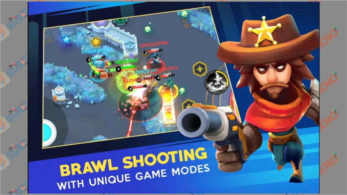 Heroes Strike - Game Battle Royale Terbaik