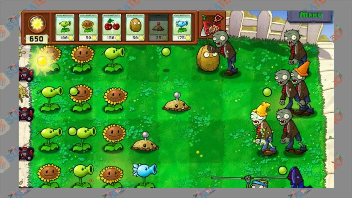 plant vs zombie - Game PopCap Terbaik