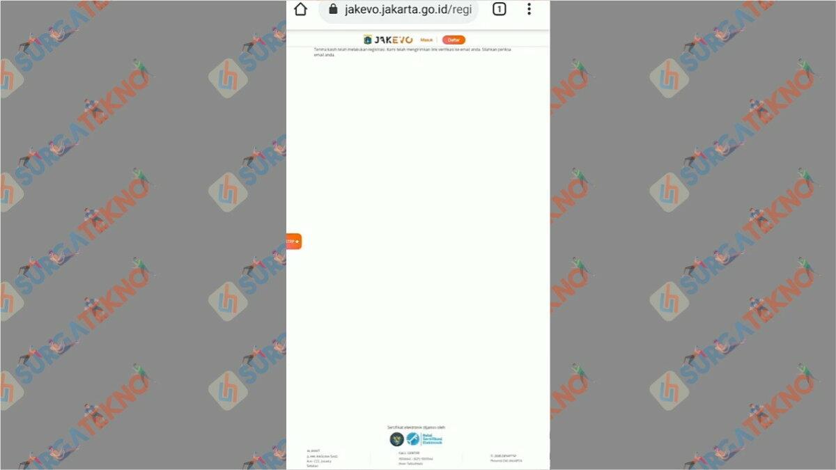 Gambar Langkah ketiga - Cara Membuat Jakevo STRP 2021