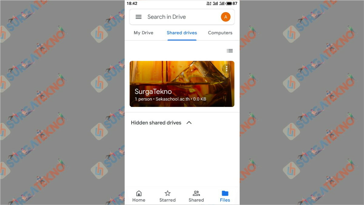 Gambar Langkah terakhir - cara membuat Google Drive unlimited