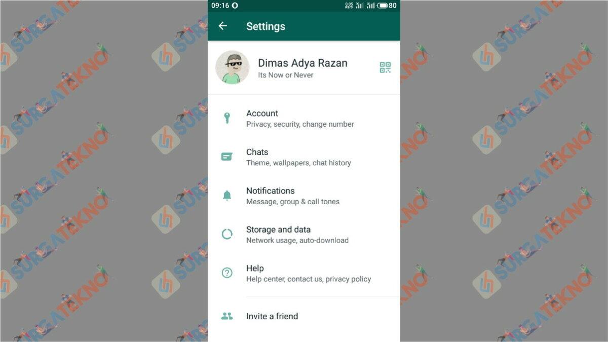 Gambar Langkah ketiga - cara mengunci WhatsApp dengan Sidik Jari