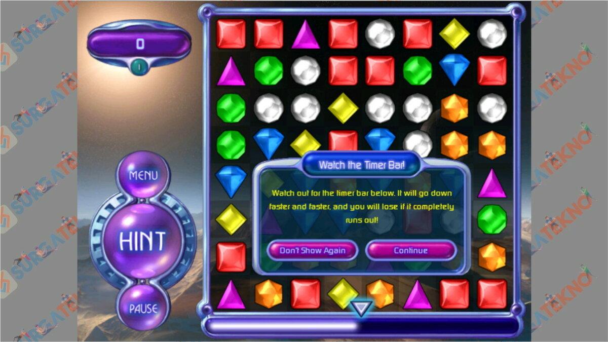 Bejeweled - Game PopCap Terbaik