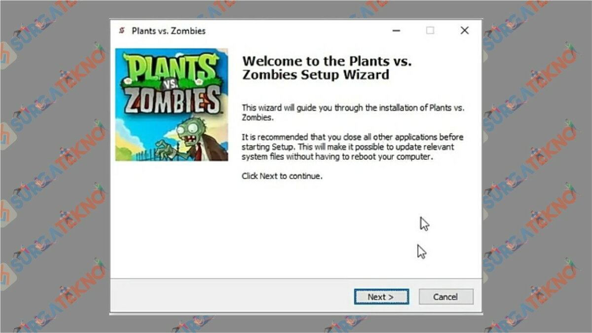 Gambar Langkah kelima - Cara Install Plants Vs Zombie