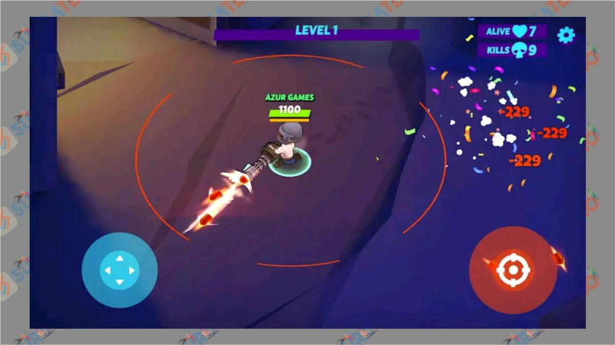 Warriors.io - Game Battle Royale Terbaik