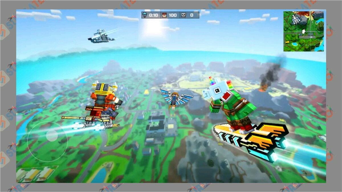 Pixel Gun 3D - Game Battle Royale Terbaik