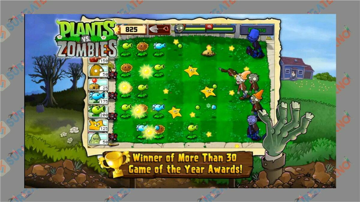 gambar Plants Vs Zombie - Game Tower Defense terbaik