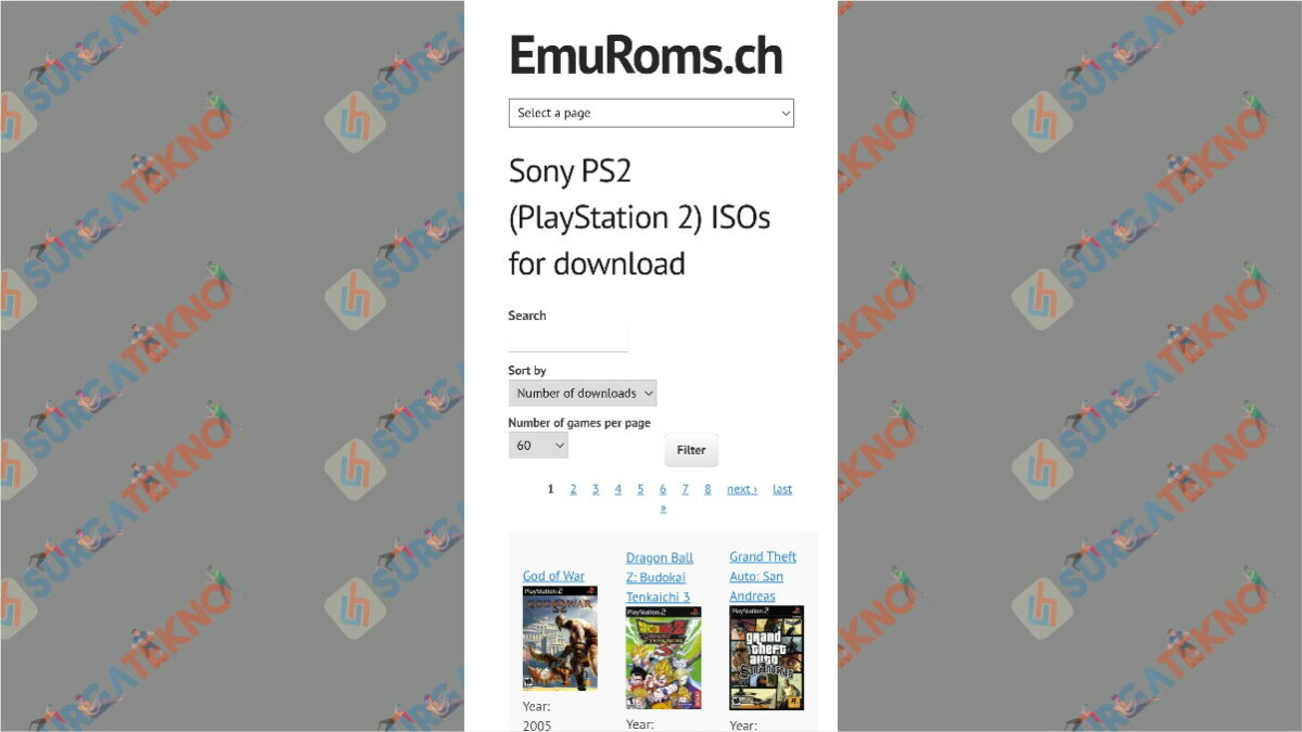 emuroms - situs download game ps2 ISO