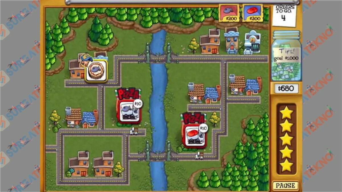 Screenshoot Gameplay Pizza Frenzy