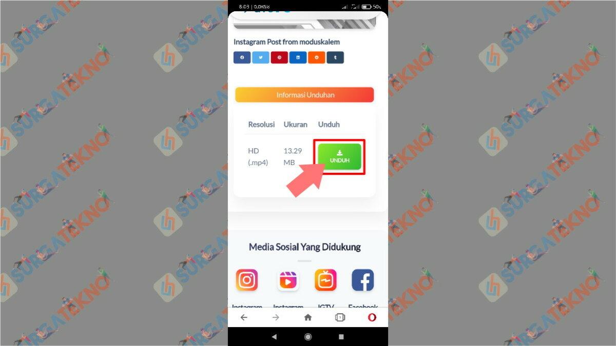 Gambar Langkah Keempat - Cara Download Video dari IGTV