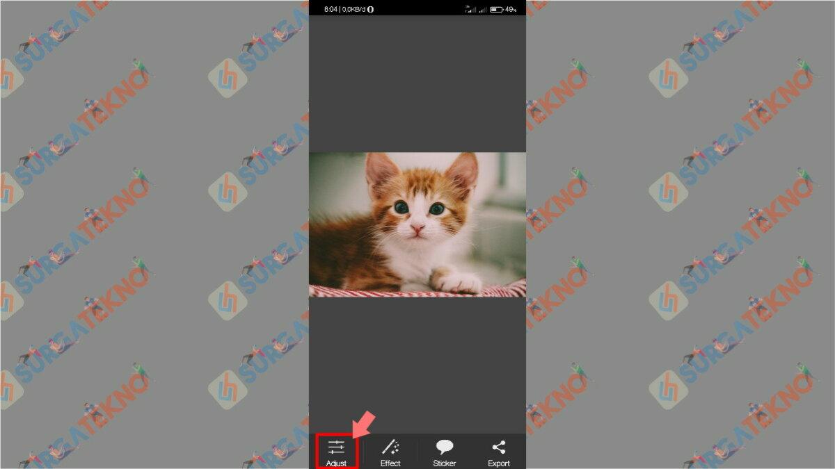 Gambar Langkah ketiga - cara memperbesar ukuran jpg